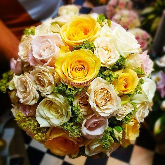 Bouquet de mariée 2019