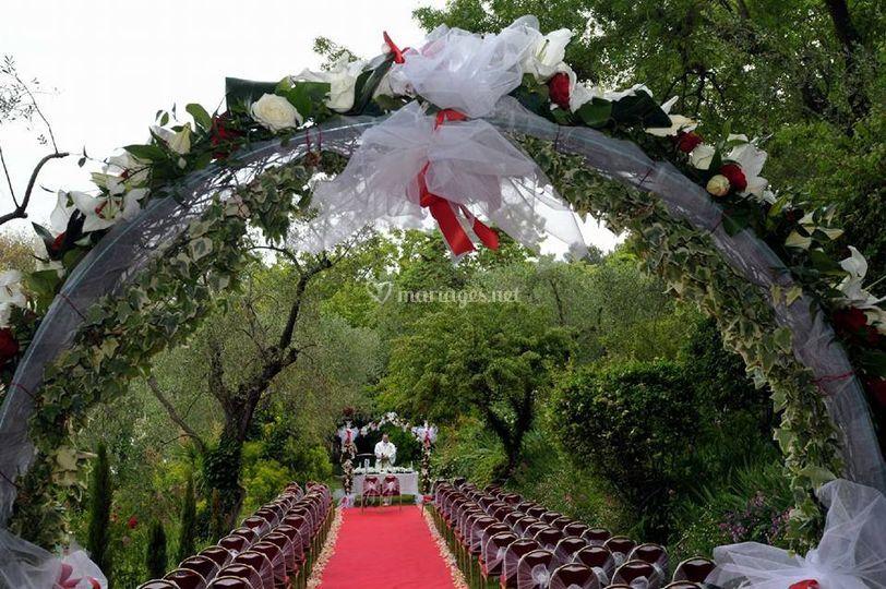 Arche pour cérémonie de mariag