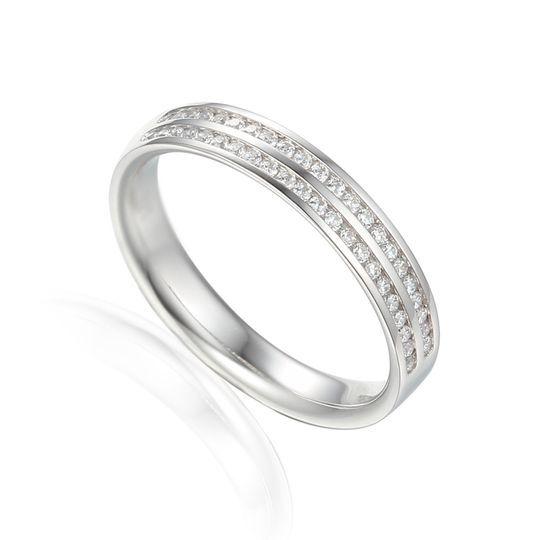 Alliance 2 rangs diamants