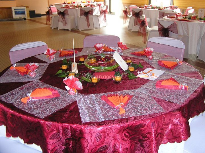 7 juin table des mariés