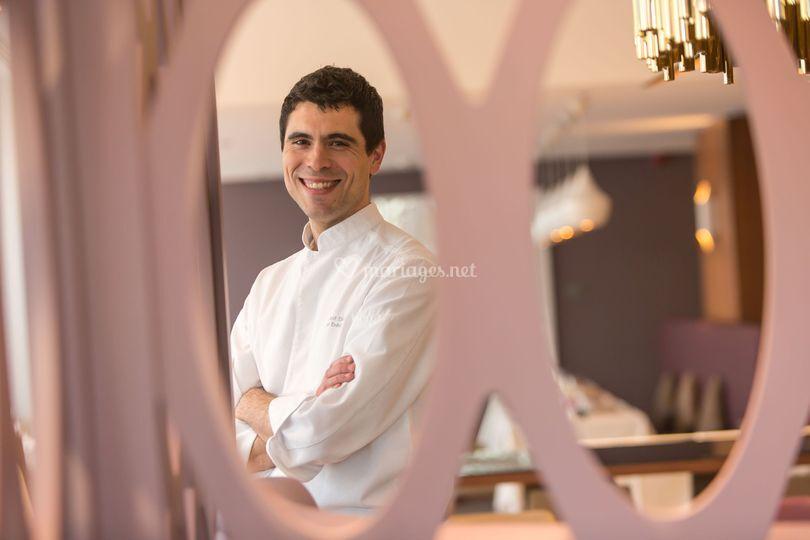 Notre Chef Arnaud Davin