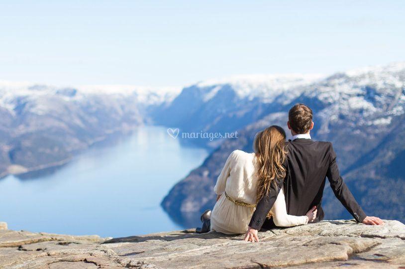 Mariage dans les fjords