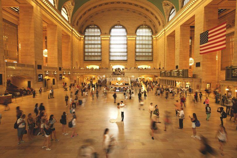 Un mariage à NY-Grand Central