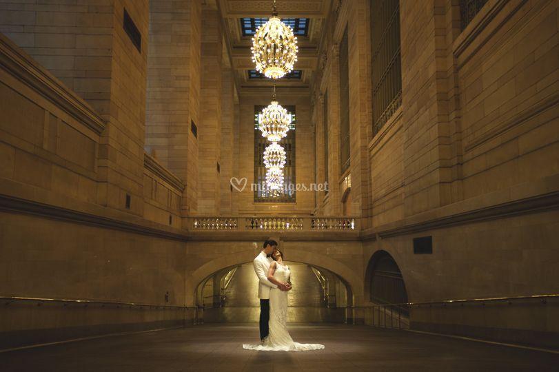 Un mariage à NY, Grand Central