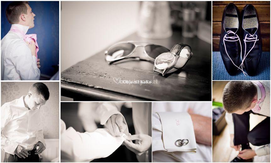 La préparation du marié