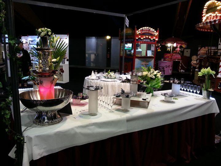 Présentation de cocktail