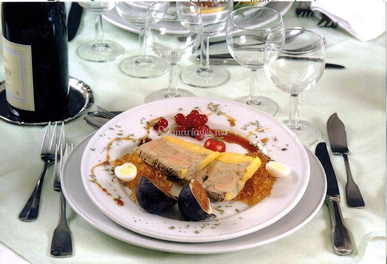 Foie gras Mariage
