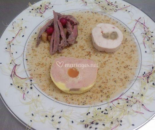 Nourriture variée