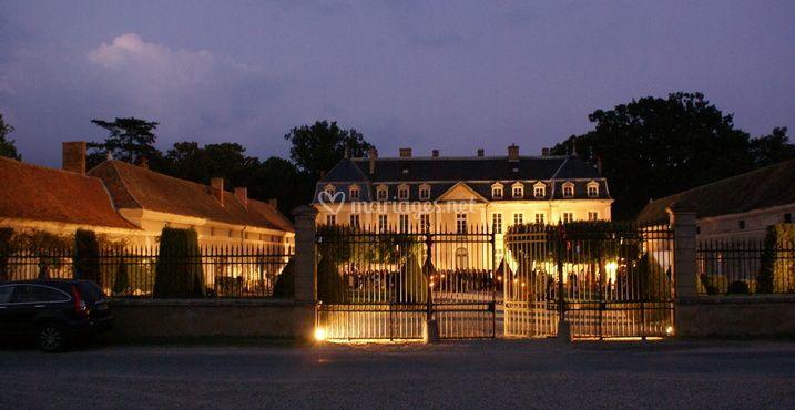 Château éclairage