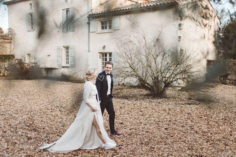 Falling Wedding