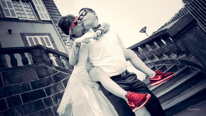 Photos de couple - Décalées