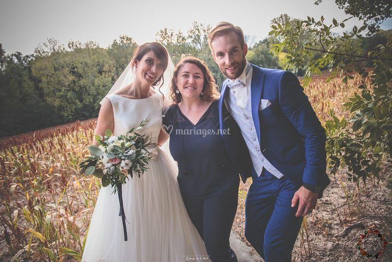 Mes mariés Lucie & Ben