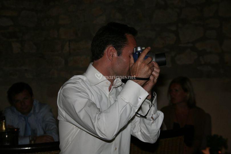 Photographe polaroid