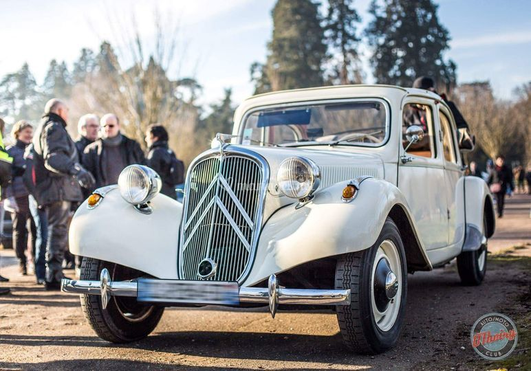 Citroën Traction Mariage