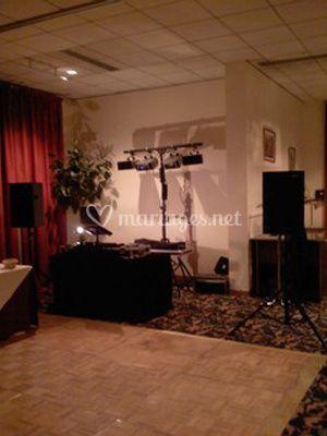 Salle DJ