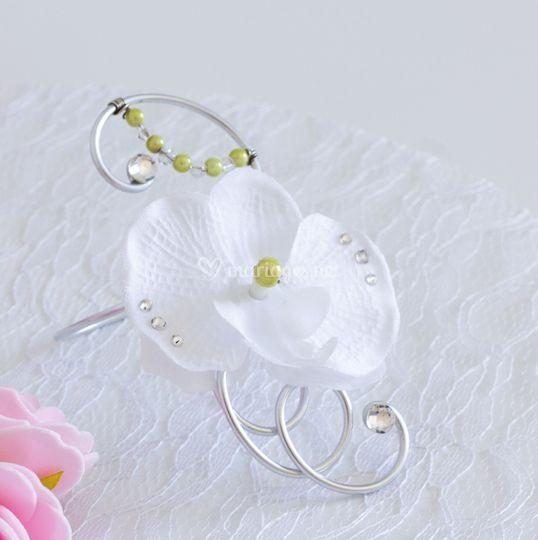 Bracelet mariage alu argenté