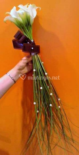 Bouquet de mariée sceptre