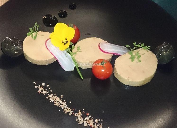 Médaillons de foie gras