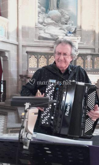 Serge et son accordéon