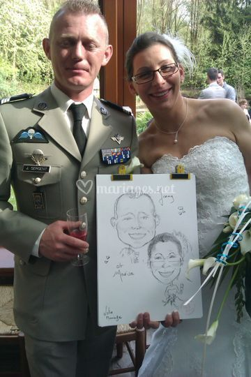 Animation pendant mariage