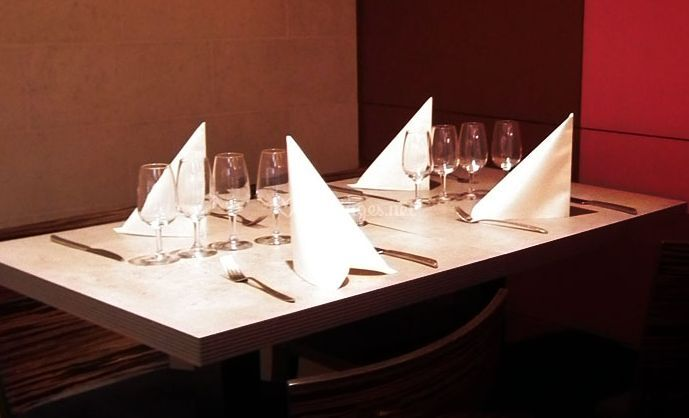 La table de restaurant