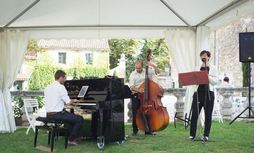 Le trio avec Basse & Chant