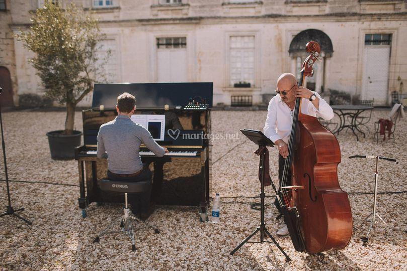 Le duo : piano & contrebasse