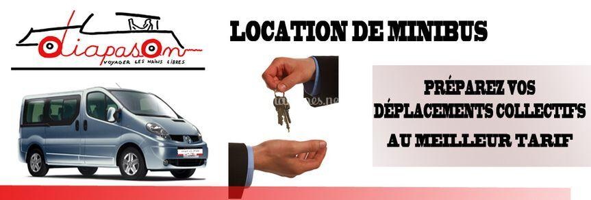 Location de minibus