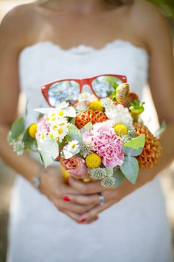 Le joli bouquet de Vanessa