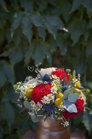 Le joli bouquet de Léa