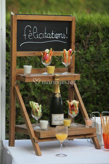 Décoration de cocktail