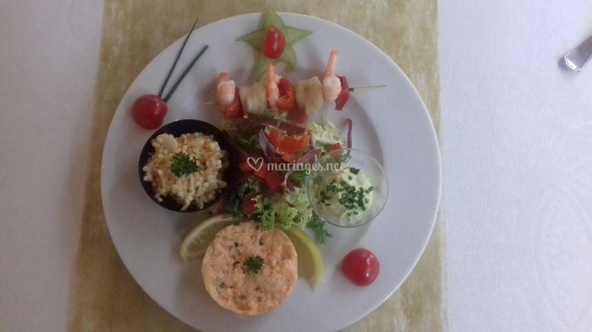 Assiette gourmande