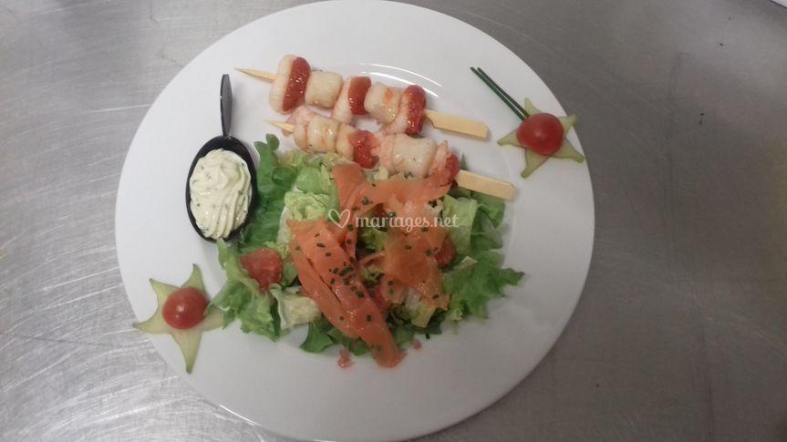 Assiette du gourmet