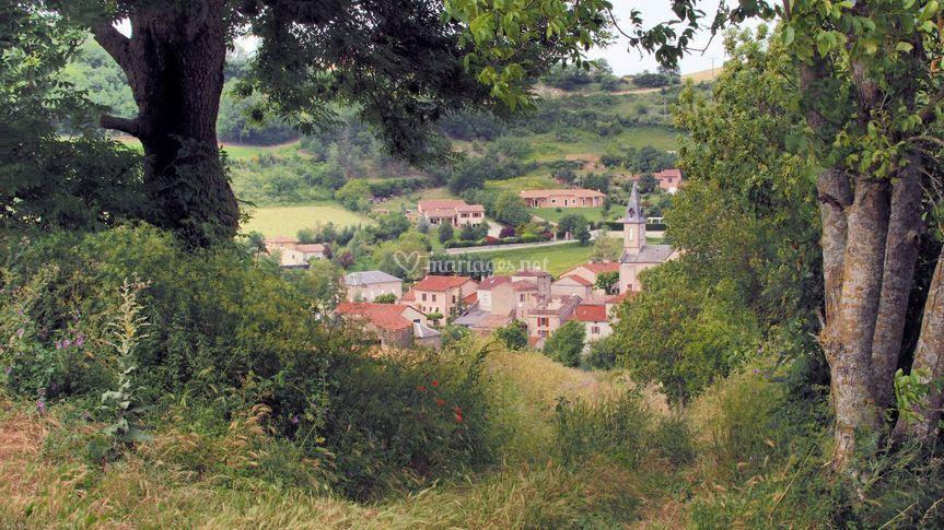 Village de St Jean d'Alcapiès