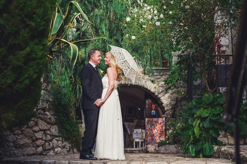 Photo de mariage à Eze