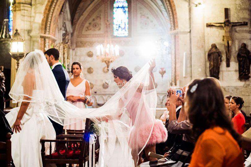 Mariage église de Nissan les E