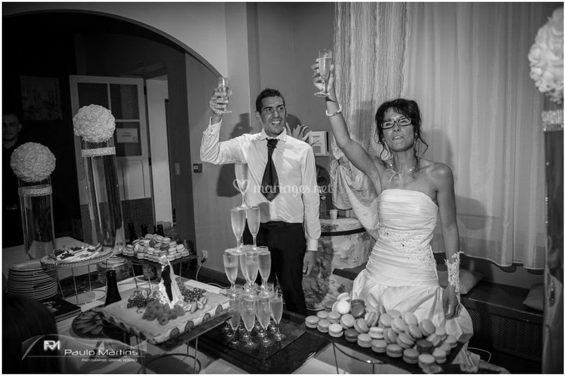 Desserts et champagne