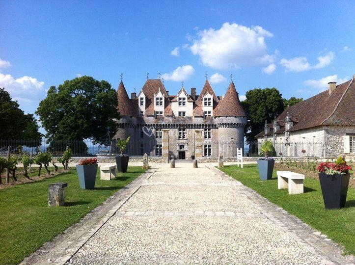 chteau sur chteau monbazillac - Chateau De Monbazillac Mariage