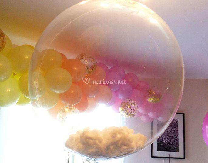 Bubble nuage