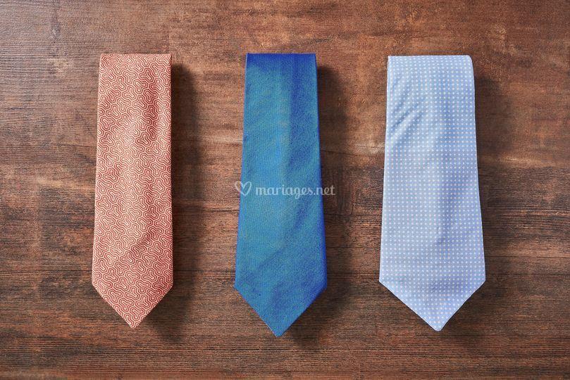 Cravates sur mesure au choix