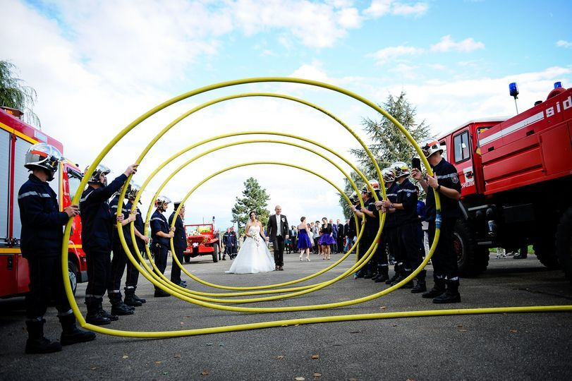 Mariage pompiers