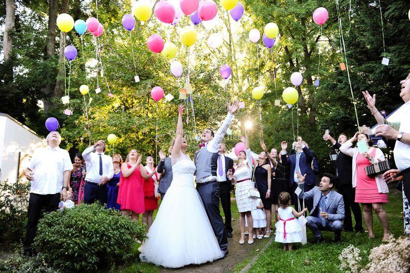 Photos mariage vin d'honneur