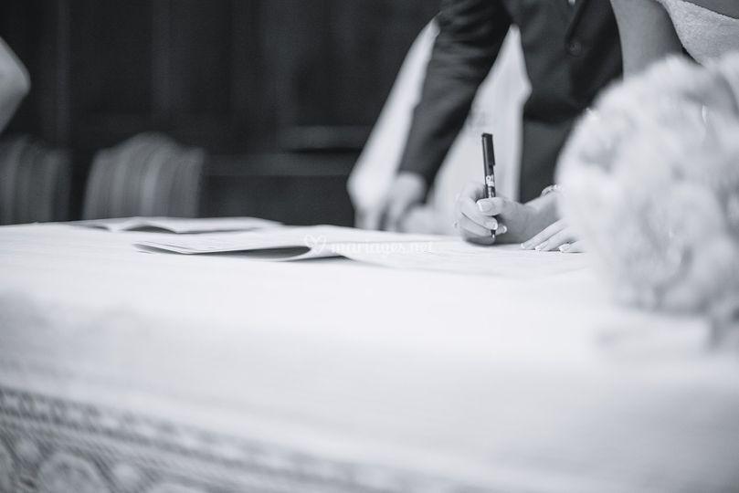 Mariage 2018 - signatures