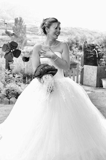 La mariée Anaïs