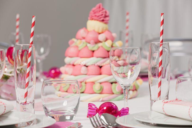 Super bonbon - Centre de table en bonbon pour mariage ...