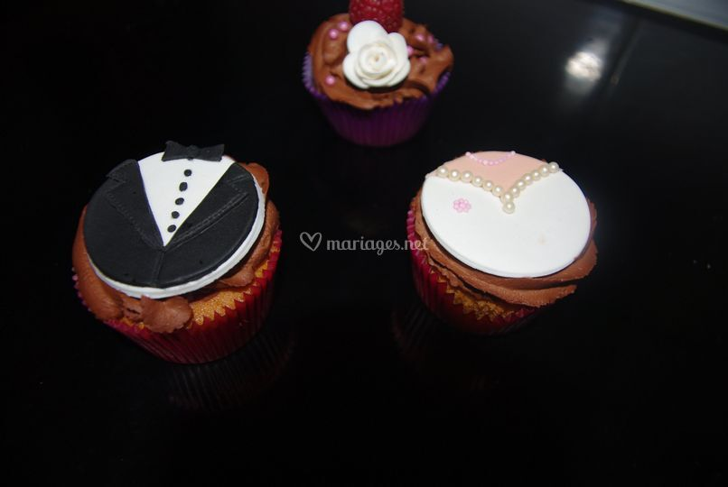 Cupcakes gourmand, couple