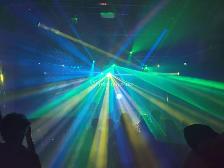 Les jeux de lumières