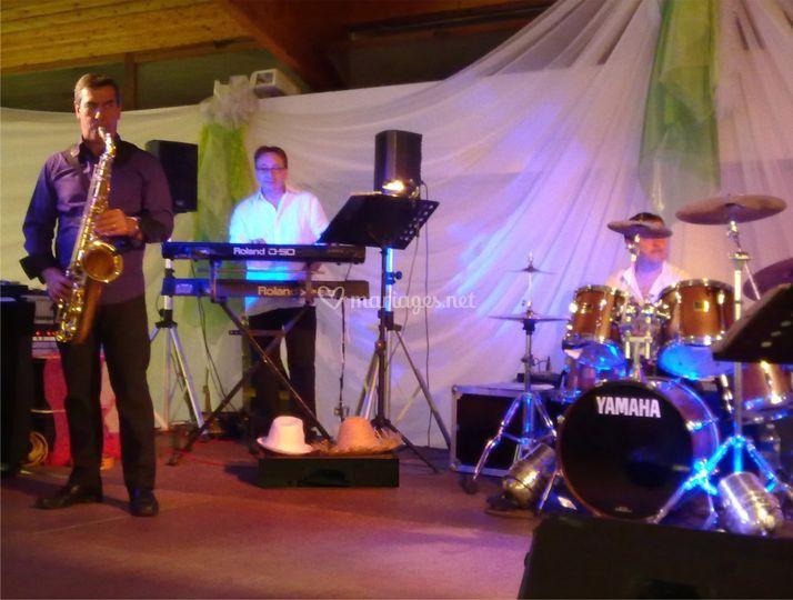 Musicien cocktail mariage