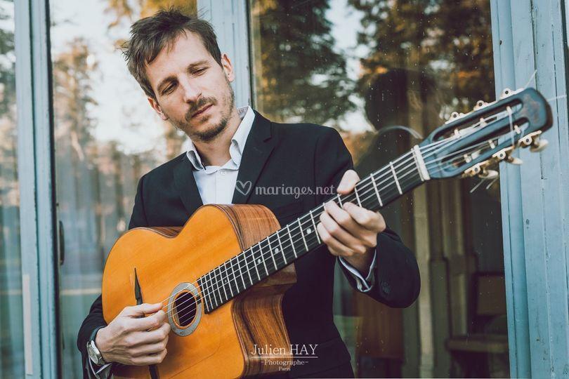 Un de nos guitaristes
