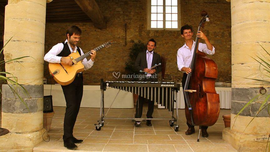 Sunny Side Trio Jazz mariage